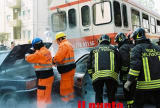 """Anxa 2010″, prove di incidente ferroviario"