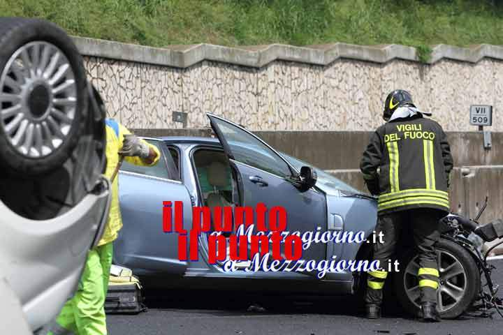 Incidente sulla Sora &#8211; Avezzano tra tre auto, 4 i feriti