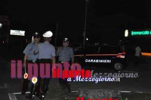 incidente villa carabinieri sera