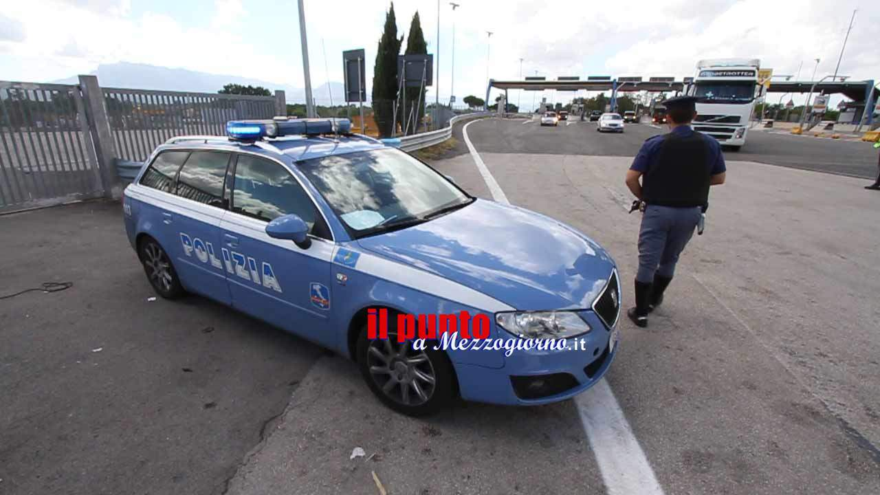 Due chili di cocaina sequestrati sull'A1 a Frosinone