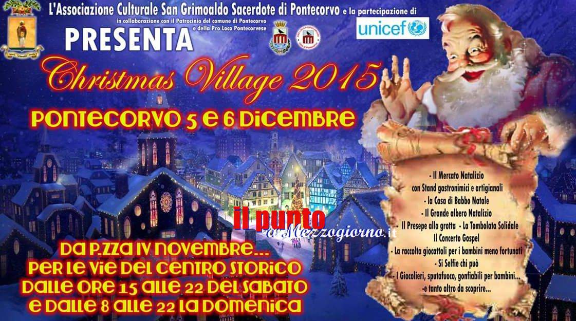 Al via a Pontecorvo il Cristmans Village 2015