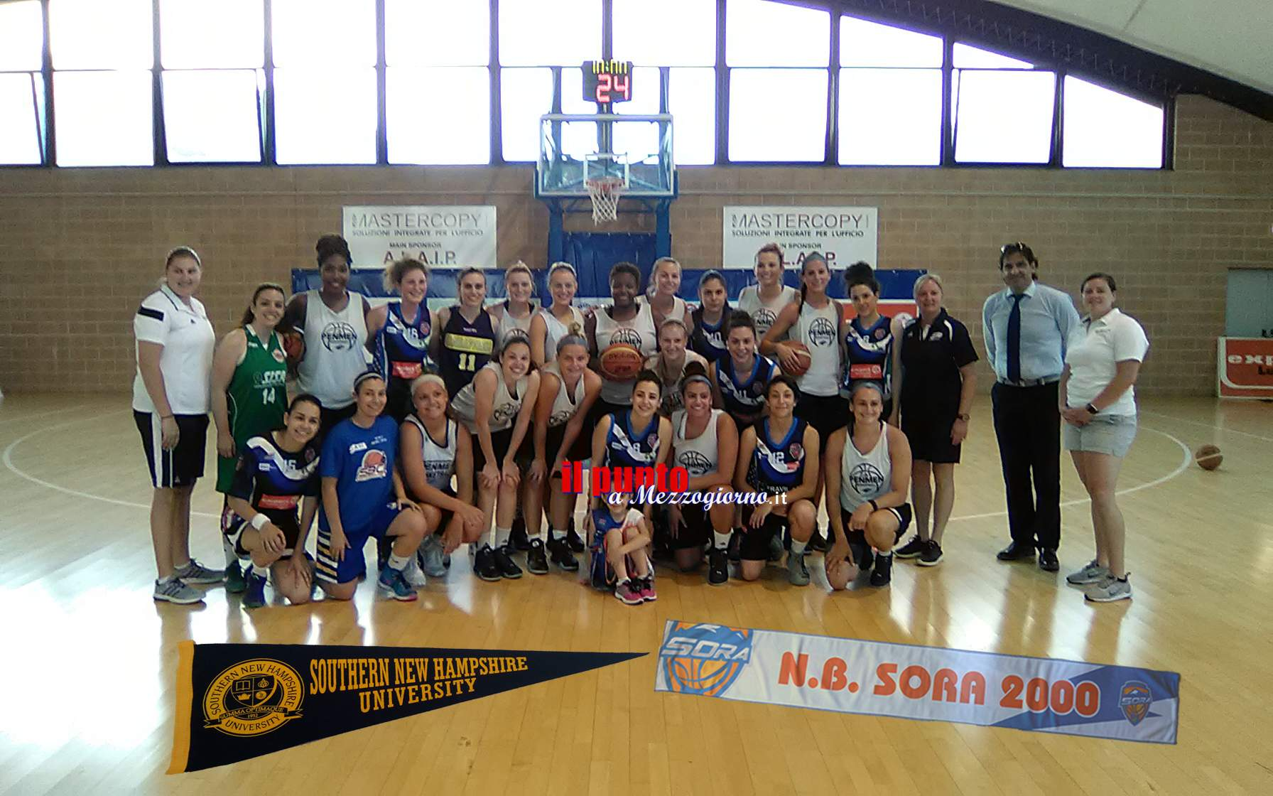 Basket femminile: N.B. Sora 2000 amichevole con New Hampshire University