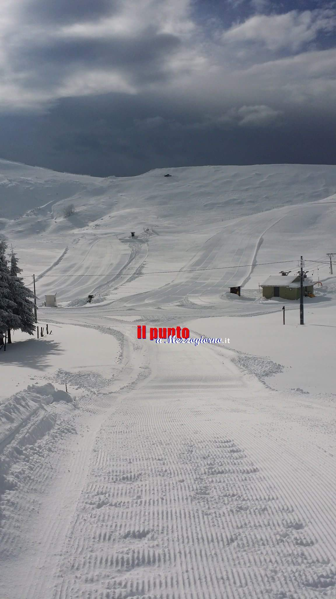 Filettino- Campo Staffi- Tanta neve, impianti aperti