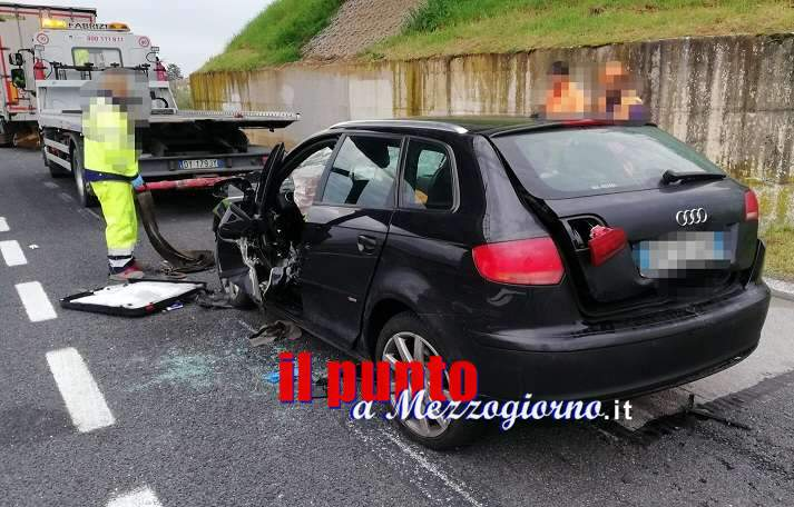 Ceprano, grave incidente sulla A1, un morto e due feriti