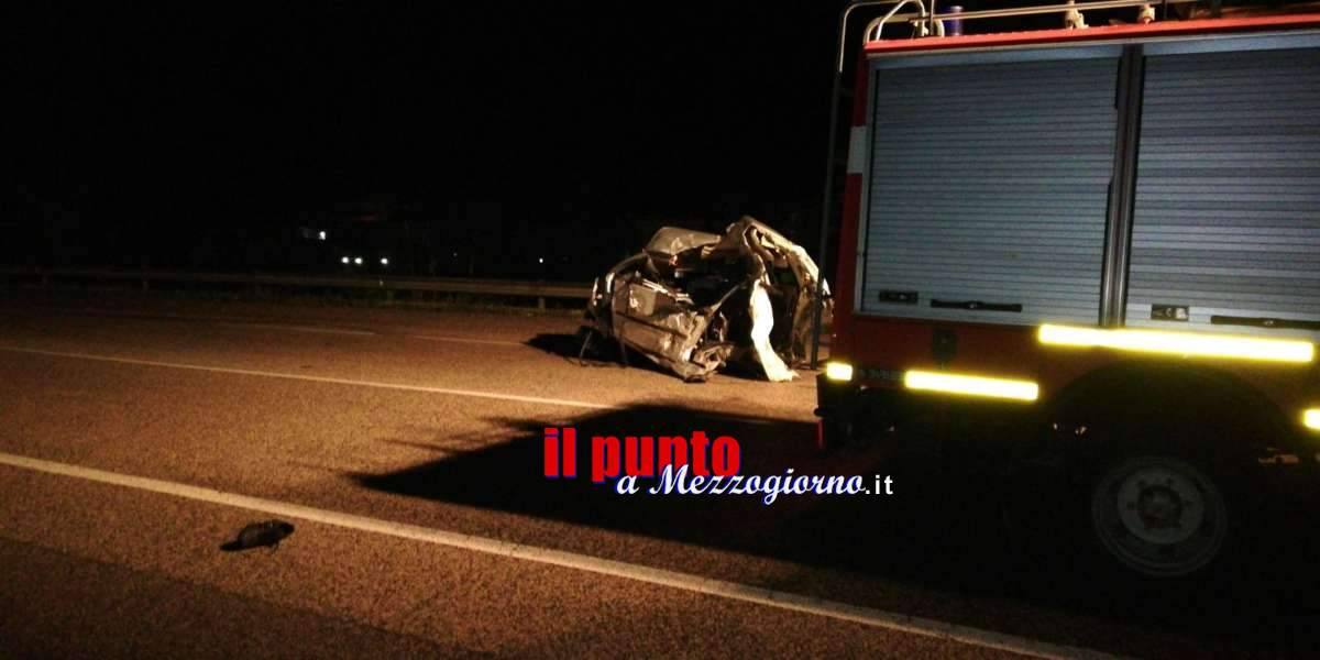 Incidente Ausonia: i feriti elitrasportati a Roma