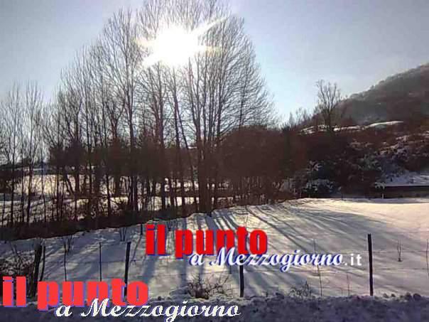 Grande freddo, appello della provincia di Frosinone: attenzione al ghiaccio delle prossime ore
