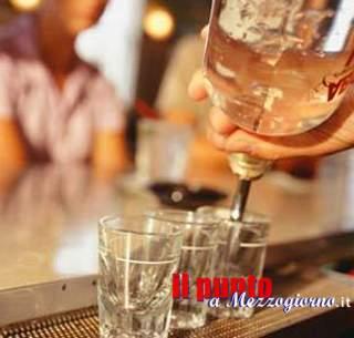 Alcool anche ai minorenni, chiuso bar ad Isola Liri