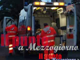Piedimonte S.Germano: Incidente nei pressi dello stabilimento Fca. Soccorsi sul posto