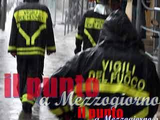 Maltempo a Viterbo, uomo e auto trascinati via da acqua e fango. E' disperso