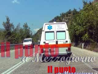 Donna ferita al petto da colpi di pistola a Sant'Elia Fiumerapido
