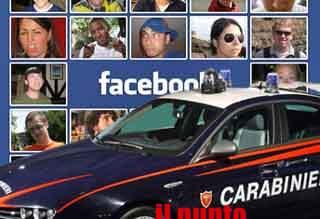 Offese ai carabinieri su Facebook, denunciato 21enne di Ferentino