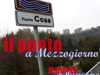 """Report ambientale sul Cosa, in mano alla Provincia """"le gioie e i dolori"""" del fiume"""