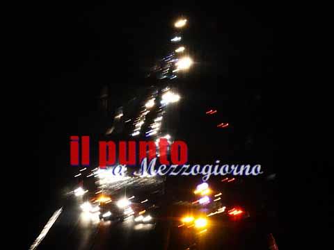 Incidente tra tir sull'autostrada A1, chiuso il tratto tra Caianello e Capua. Code di 4 chilometri
