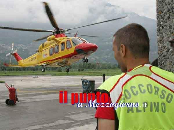 Collepardo- Escursionista si infortuna gravemente, complesso intervento del Soccorso Alpino e del 118