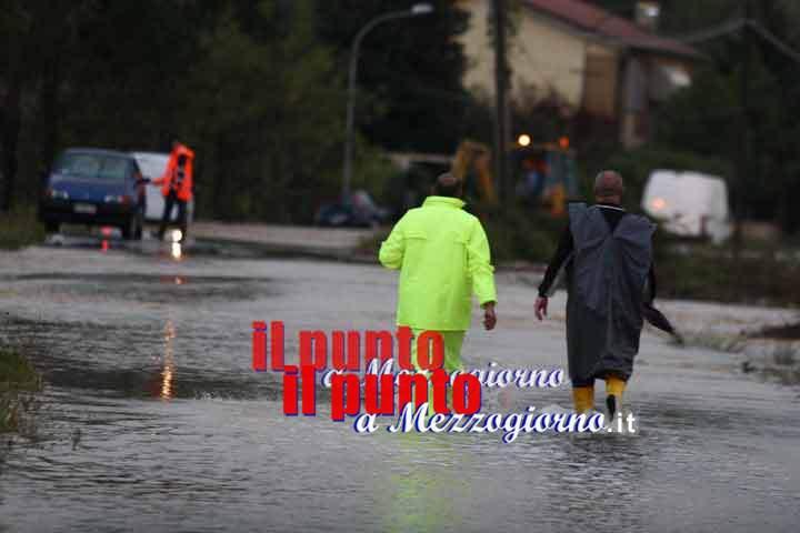 Maltempo, scuole chiuse anche a Cassino