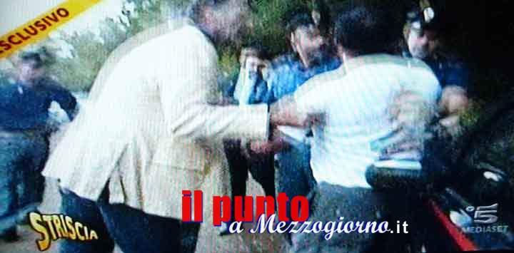 Striscia la Notizia presa a bastonate a Ceccano, cane morde carabiniere intervenuto