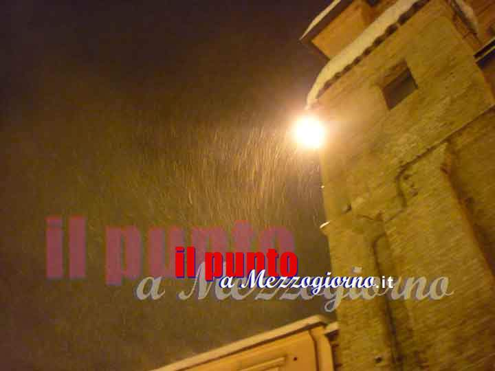 Allerta meteo nel Lazio, domani prevista neve a quota 500 metri