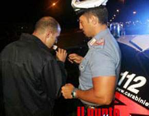 Niente alcooltest, denunciati due automobilisti a Pontecorvo