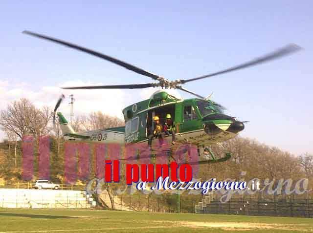 Terremoto, evacuata la sede del centro operativo elicotteri della Forestale a Rieti