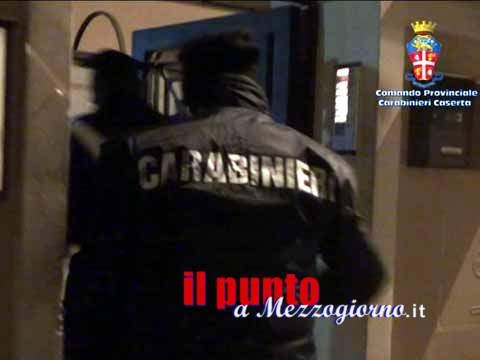 Camorra, arrestati a Caserta 7 esponenti tra clan Belforte e Mezzacane