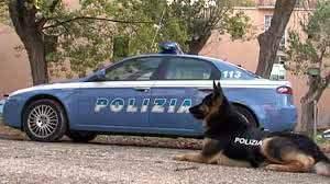 La Polizia di Stato passa al setaccio il capoluogo ciociaro coadiuvata dall' unità cinofila