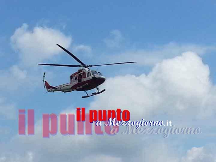Due escursionisti dispersi a Sonnino, elicottero in volo per recuperarli