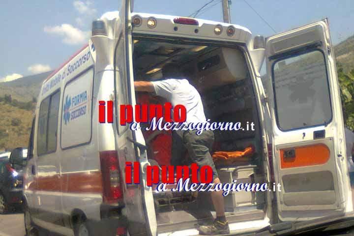 Bimba nasce in ambulanza, il parto è avvenuto tra Torre Cajetani e Frosinone