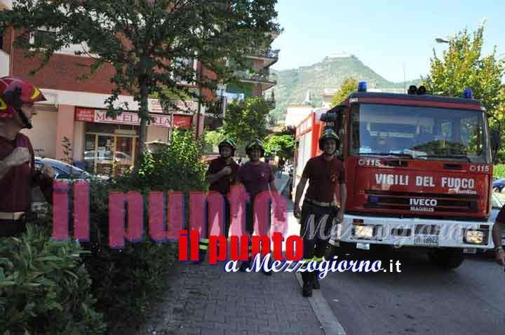 Ospedale di Sezze, provvidenziale intervento vigili del fuoco, area chiusa poche ore prima del crollo