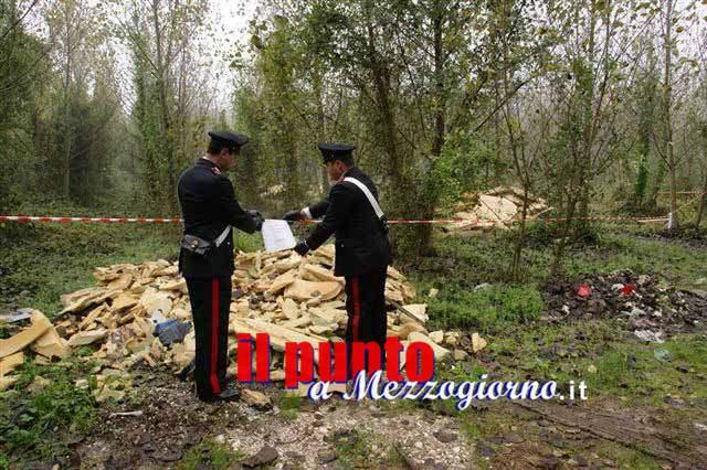 Abbandona rifiuti , 38enne denunciato dai carabinieri