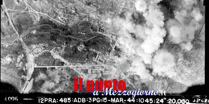75° Anniversario della distruzione di Cassino, cerimonia in piazza De Gasperi presieduta dal Prefetto Ignazio Portelli