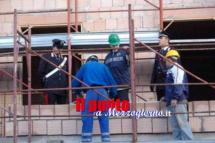 Sicurezza sul lavoro, sanzionati e denunciati, dai Carabinieri, i rappresentanti legali di due imprese