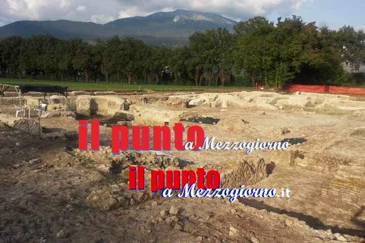 Le novità della settima campagna di scavi ad Aquinum