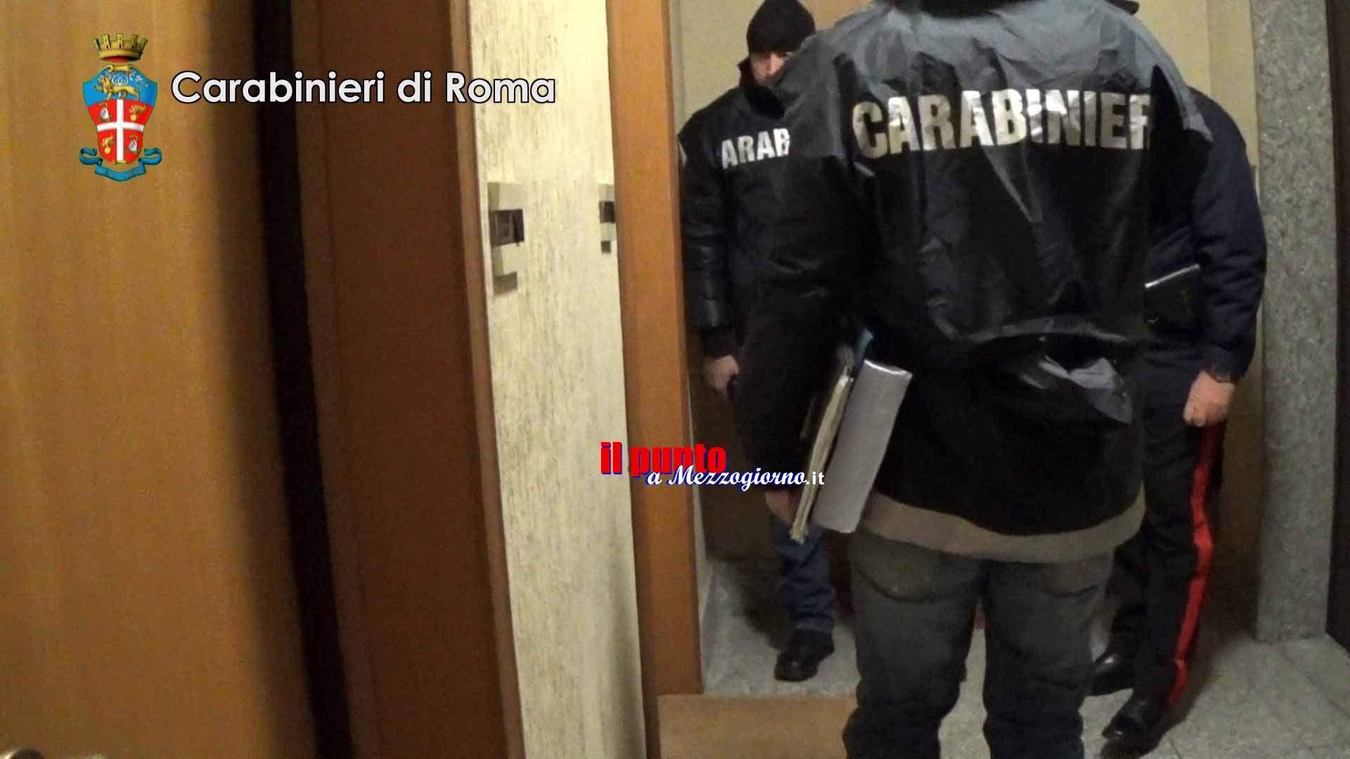 Sequestro di beni per tre milioni ad Angelo Casamonica