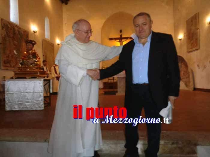 Roccasecca, una delegazione della Pontificia Università Angelicum di Roma in visita ai luoghi di San Tommaso