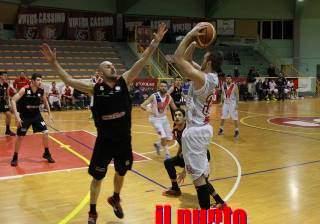 Basket: La Virtus Cassino supera Viterbo. Il sogno play off continua.