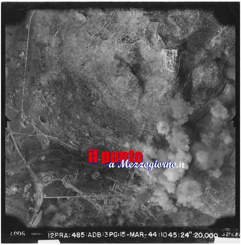 15 Marzo 2015 si disinnesca una bomba della distruzione di Cassino del 15 Marzo 1944
