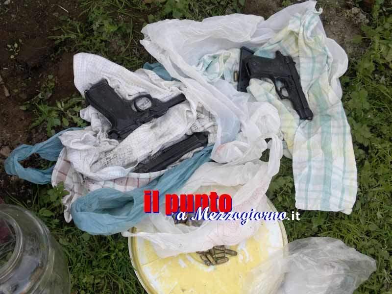 Pistola rubata a un poliziotto nel frusinate usata per gambizzare un uomo a Caserta