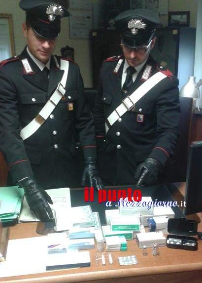Farmaci dopanti in palestra a Monte S. Biagio. Denunciato 21enne