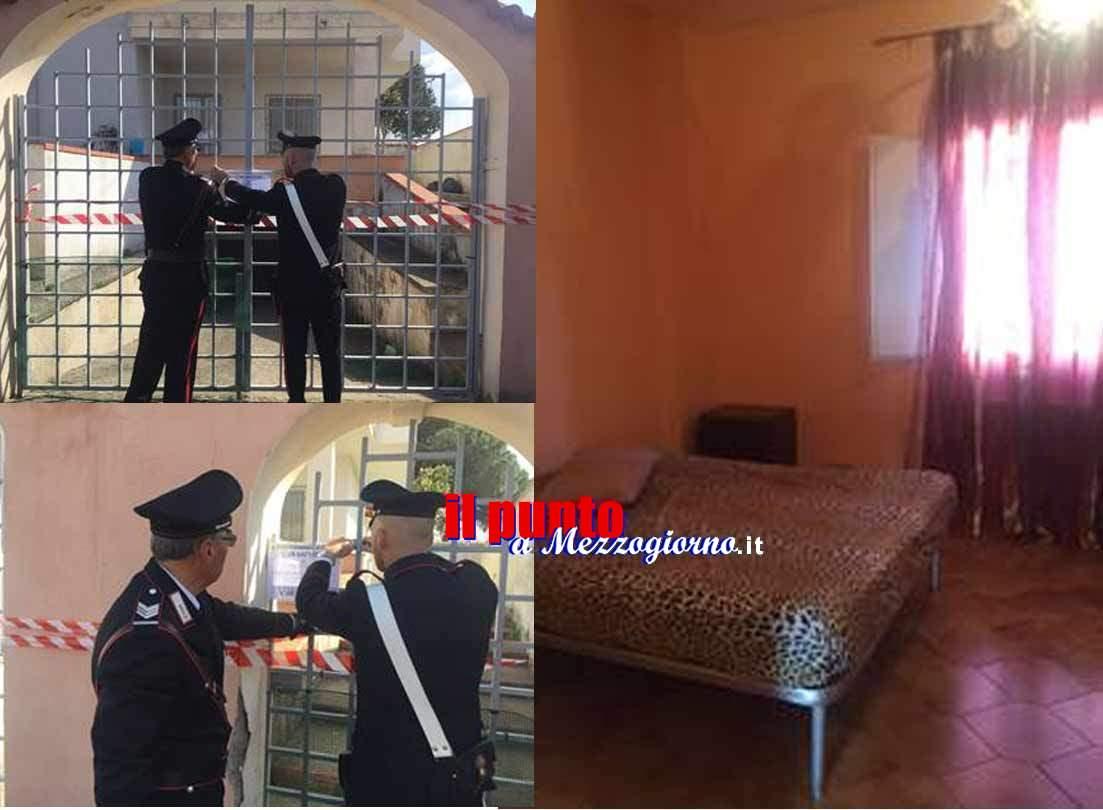 Affittano la villa di un frusinate per prostituirsi, denunciate in 4