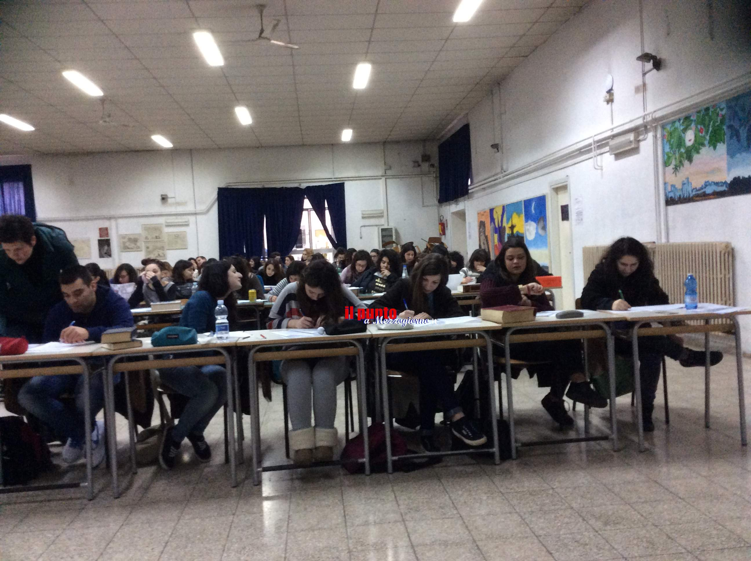 Esami di maturità, via alla prova di italiano per gli oltre 800 studenti delle scuole di Cassino