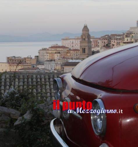 In Fiat 500 alla conquista di Gaeta