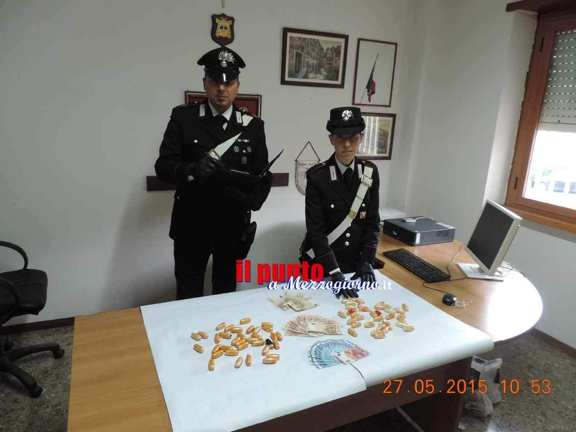 Ovuli di eroina e cocaina, arrestati quattro spacciatori a Cisterna di Latina