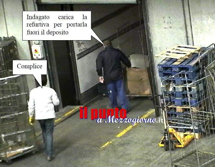Manoleste nel deposito di Autogrill ad Anagni, indagati 6 dipendenti