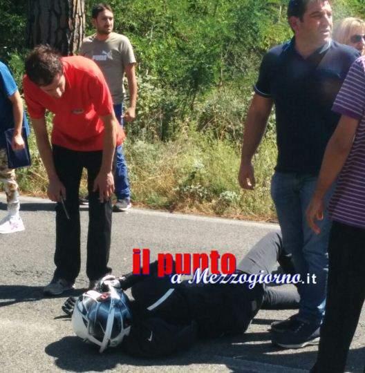 Schianto auto moto a Villa Santa Lucia, ragazza elitrasportata a Roma. Ferito anche il giovane alla guida