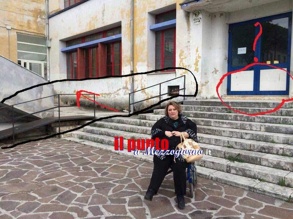 Barriere architettoniche a San Donato Valcomino, la denuncia di Rita Giorgio