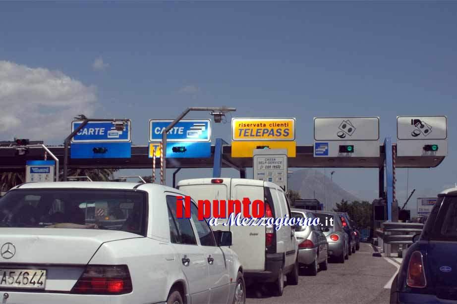 Autostrade, stanotte il Casello di Cassino chiuso per lavori in entrata verso Napoli e in uscita per chi proviene da Roma
