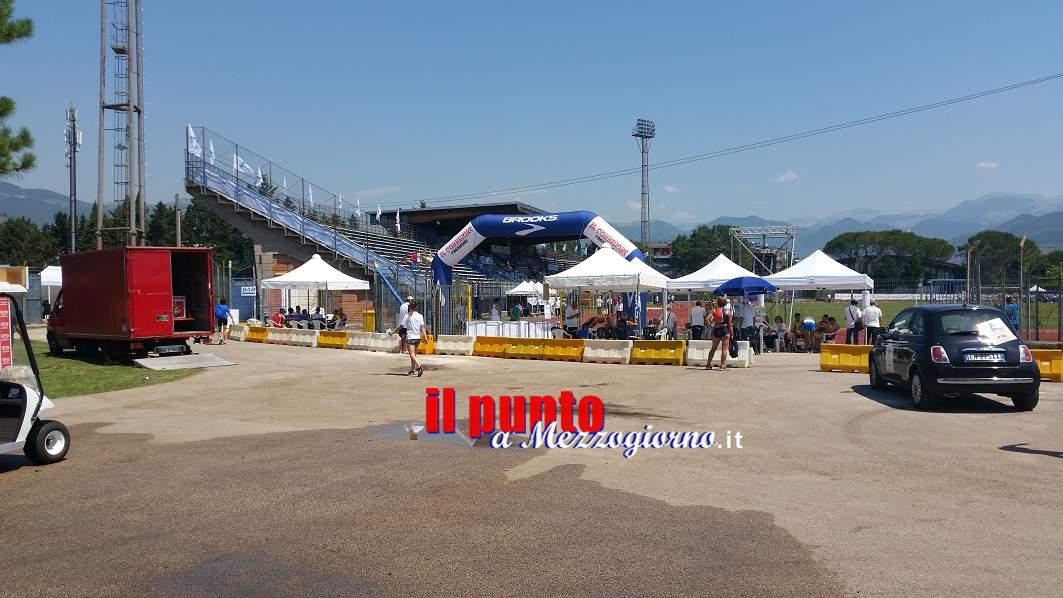 "Allo stadio ""G. Salveti"" via ai Campionati Italiani Individiali Master"