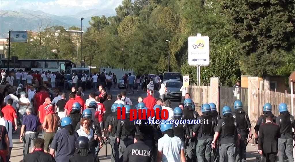 """Calcio """"Promozione"""": la Polizia di Stato daspa 5 tifosi  del Sora"""