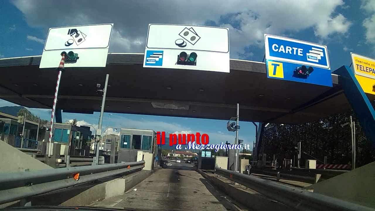 A1, chiusura per manutenzione il casello autostradale di Ceprano