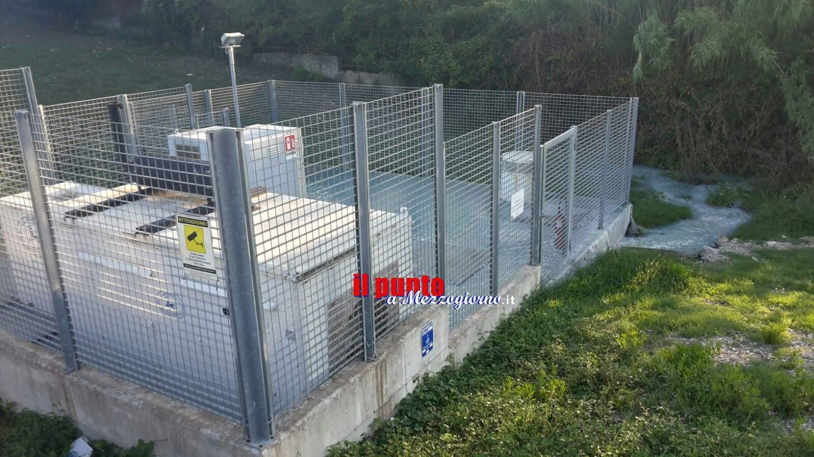 Impianto sollevamento Cosilam via Cerro: Recinzione per garantire sicurezza agli impianti